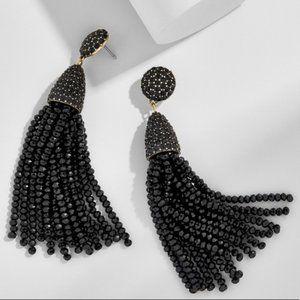Baublebar Pinata Gold Tassel Earrings Large NWOT